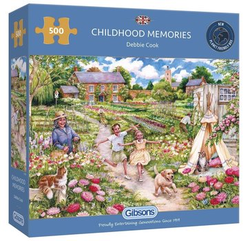 Gibsons Childhood Memories Puzzle 500 Pièces