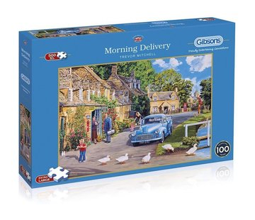 Gibsons Morning Delivery 500 XL Puzzle Pieces