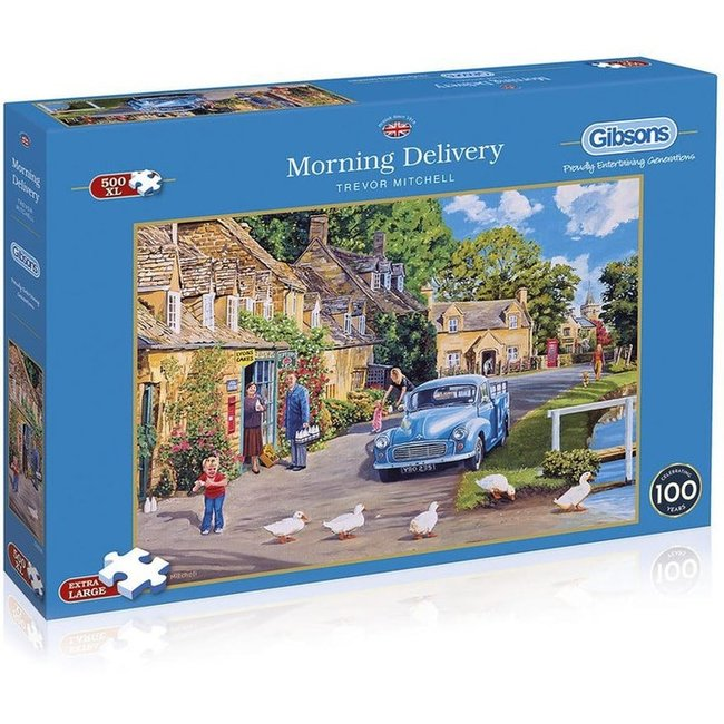 Gibsons Morning Delivery Puzzel 500 XL Stukjes