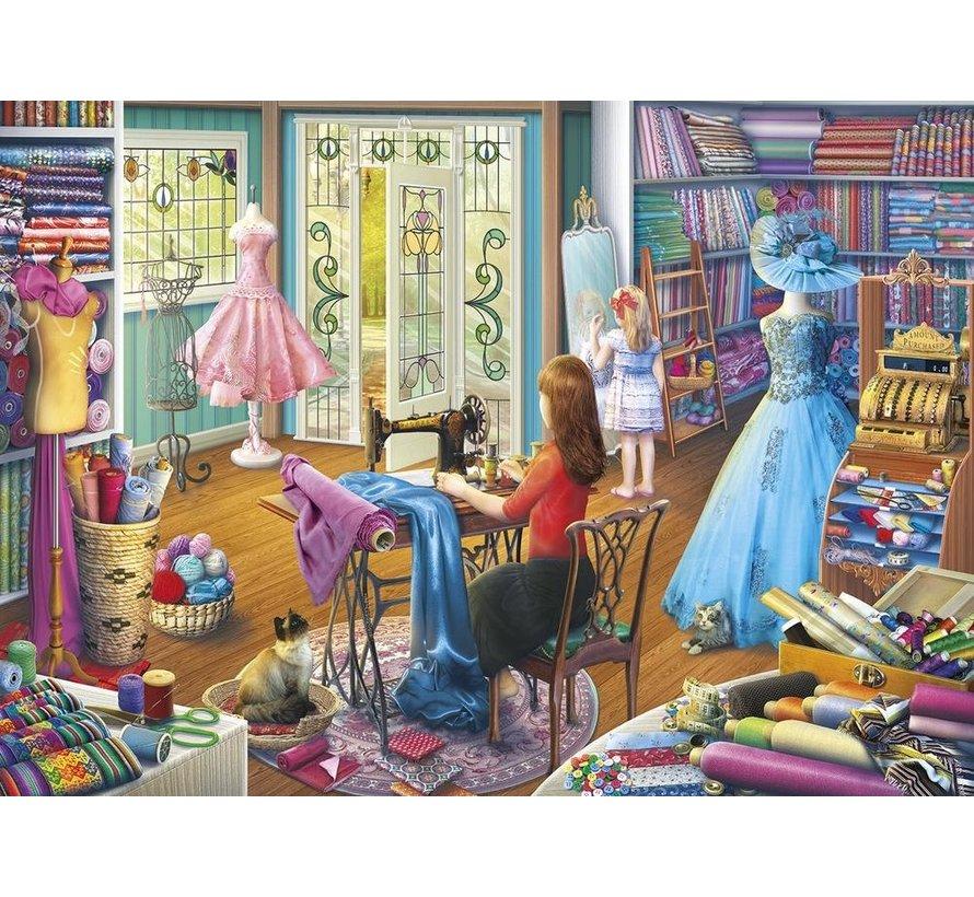 Dressmaker's Daughter Puzzel 500 XL Stukjes