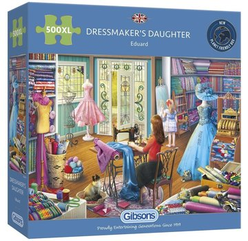 Gibsons Dressmaker's Daughter 500 XL Puzzle Pieces