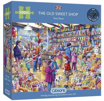 Gibsons The Old Sweet Shop 500 XL Puzzle Pieces