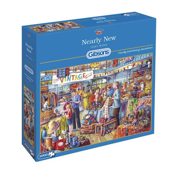 Gibsons Nearly New Puzzle 1000 Pieces