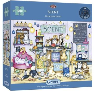 Gibsons Scent 1000 Puzzle Pieces