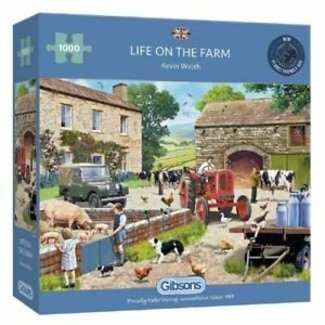 Gibsons Life on the Farm Puzzle 1000 Pieces