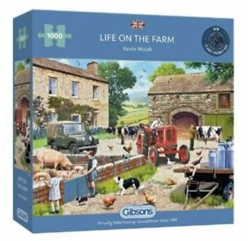 Gibsons La vie sur la ferme Puzzle 1000 Pièces
