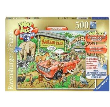 Ravensburger Wat Als? - Safari Puzzel 500 Stukjes