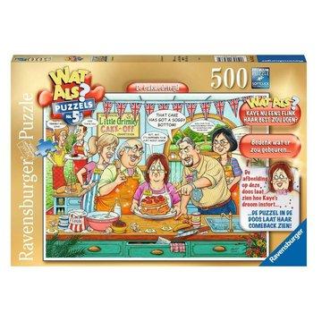 Ravensburger What if? - Bakwedstrijd Puzzle pieces 500