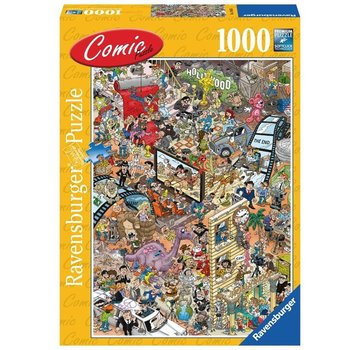Ravensburger Comic Hollywood 1000 Puzzle Pieces