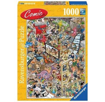 Ravensburger Comic Hollywood Puzzel 1000 Stukjes
