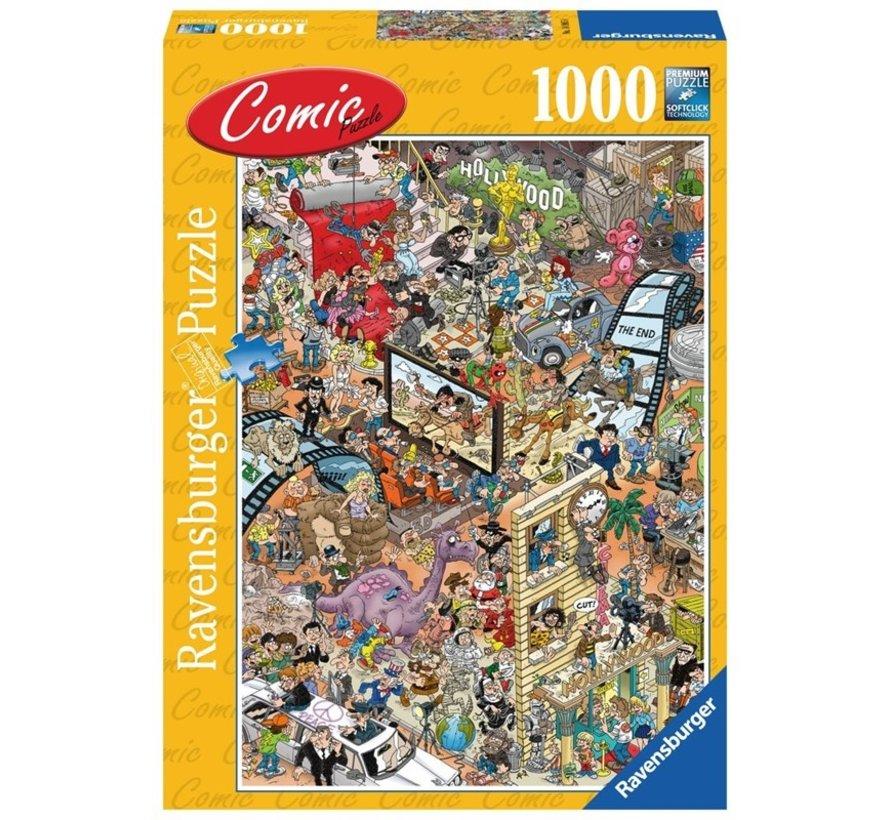 Comic Hollywood Puzzel 1000 Stukjes