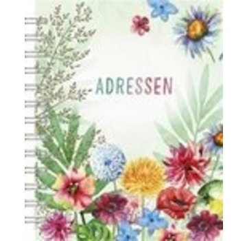 Hallmark Les Fleurs Address Book