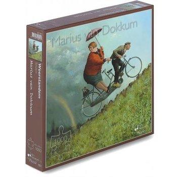 Art Revisited Marius van Dokkum Weather Tandem 1000 Puzzle Pieces