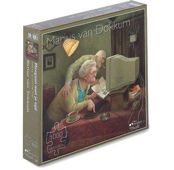 Art Revisited Marius van Dokkum Déménager avec votre temps 1000 Pièces Puzzle