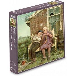 Art Revisited Marius van Dokkum Love Not faring 1000 Puzzle Pieces