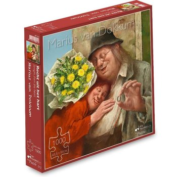 Art Revisited Marius van Dokkum Straight from the Heart 1000 Puzzle Pieces
