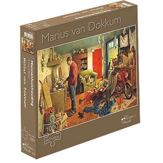 Art Revisited Marius van Dokkum 1000 Men Housekeeping Puzzle Pieces