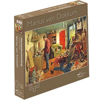 Art Revisited Marius van Dokkum Mannenhuishouding Puzzel 1000 Stukjes