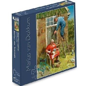 Art Revisited Marius van Dokkum Do-it-yourselfer 1000 Puzzle Pieces
