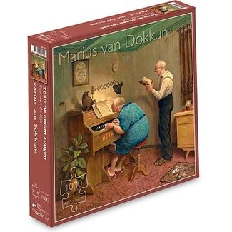 Art Revisited Marius van Dokkum As the old Sang 1000 Puzzle Pieces