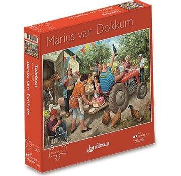 Art Revisited Marius van Dokkum Tuinfeest 1000 Puzzle Pieces