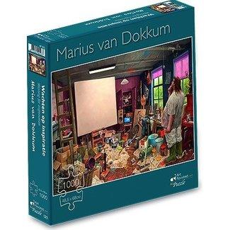 Art Revisited Marius van Dokkum Waiting for Inspiration 1000 Puzzle Pieces