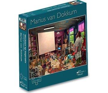 Art Revisited Marius van Dokkum Wachten op Inspiratie Puzzel 1000 Stukjes