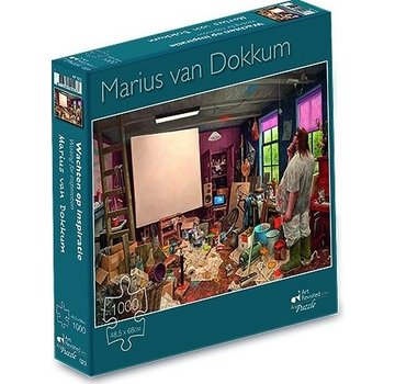 Art Revisited Marius van Dokkum Waiting for Inspiration 1000 Pièces Puzzle