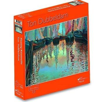 Art Revisited Ton Dubbeldam 1000 Floating Ratatouille Puzzle Pieces