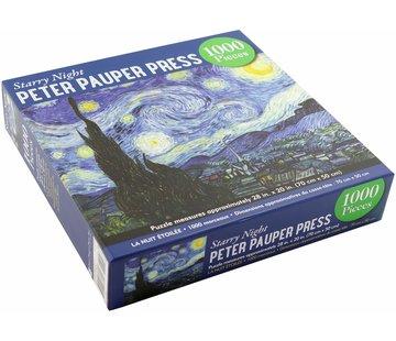 Peter Pauper Van Gogh Starry Night Puzzle 1000 Pieces