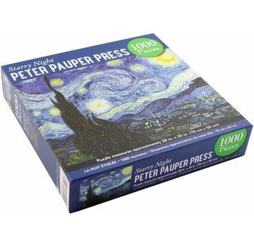 Peter Pauper van Gogh Starry Night Puzzel 1000 Stukjes