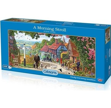 Gibsons Un matin Stroll 636 Pièces Puzzle