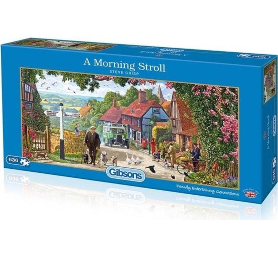 A Morning Stroll Puzzel 636 Stukjes