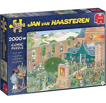 Jan van Haasteren Jan van Haasteren - De Kunstmarkt 2000 Stukjes
