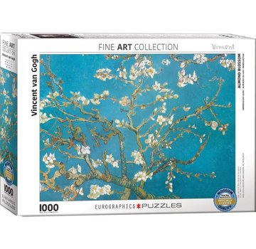 Eurographics Almond Blossom - Vincent van Gogh in 1000 Puzzle Pieces