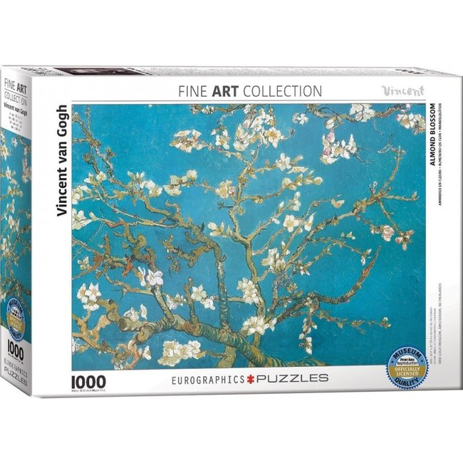 Almond Blossom - Vincent van Gogh in 1000 Puzzle Pieces