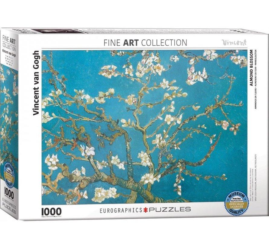 Almond Blossom - Vincent van Gogh Puzzel 1000 Stukjes