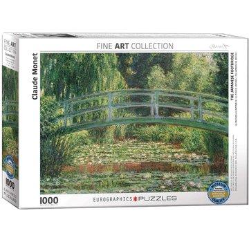Eurographics Les Japonais 1000 Puzzle Pieces Footbridge