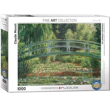 Eurographics The Japanese Footbridge Monet Puzzel 1000 Stukjes