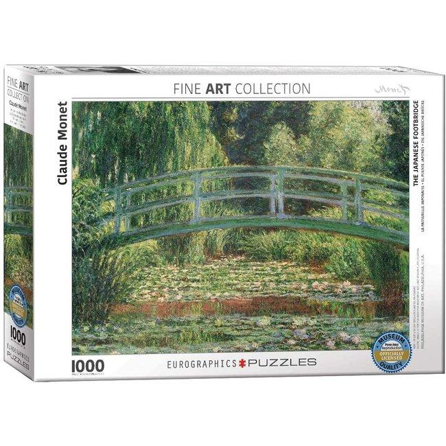 Eurographics Die japanische Brücke 1000 Puzzleteile