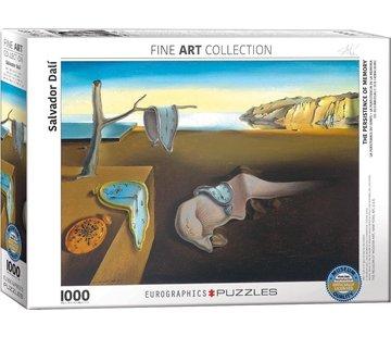 Eurographics La persistance de la mémoire - Salvador Dali 1000 Puzzle Pieces
