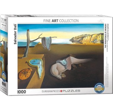 Eurographics The Persistence of Memory - Salvador Dali 1000 Puzzle Pieces