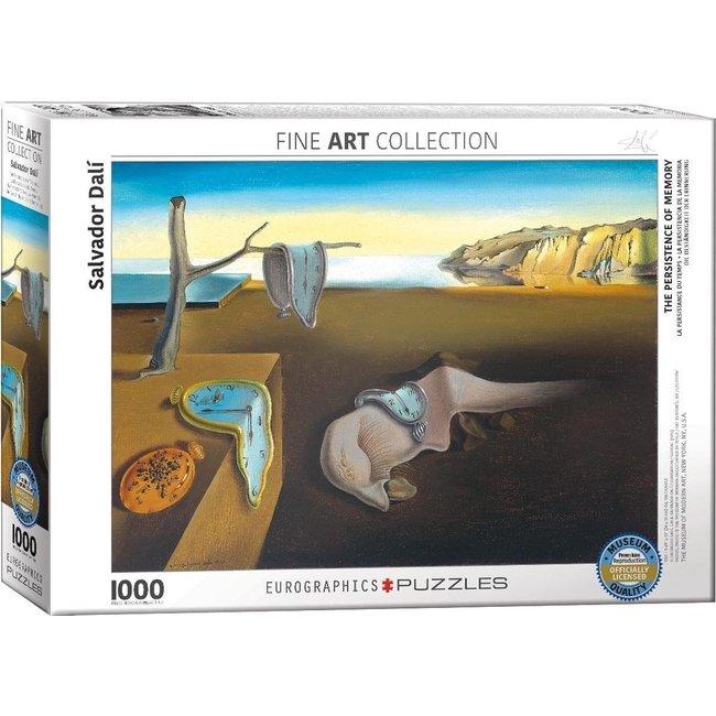 Eurographics Die Beständigkeit der Erinnerung - Salvador Dali 1000 Puzzle Pieces