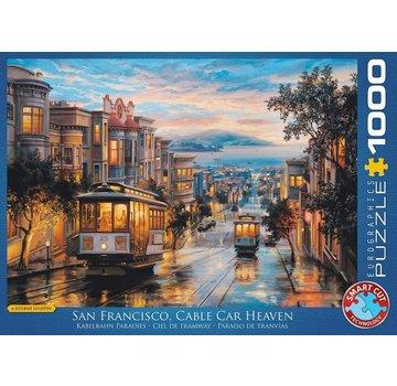 Eurographics San Francisco Cable Car Heaven Puzzel 1000 Stukjes