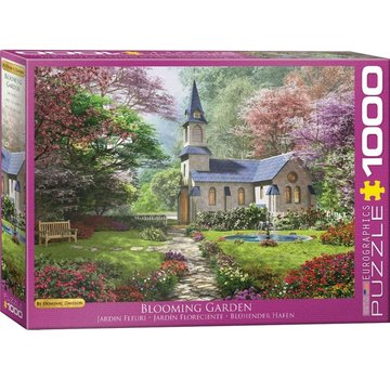 Eurographics Blooming Garden - Dominic Davison 1000 Puzzle Pieces