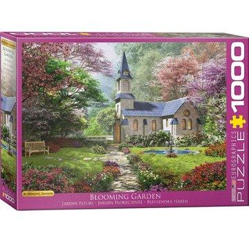 Eurographics Blooming Garden - Dominic Davison Puzzel 1000 Stukjes