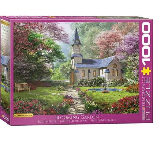 Eurographics Blooming Garden - Dominic Davison 1000 Puzzle Pieces