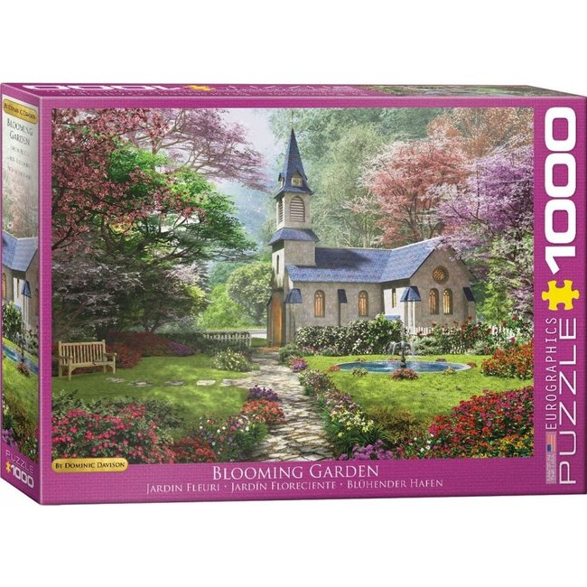 Blooming Garden - Dominic Davison Puzzel 1000 Stukjes