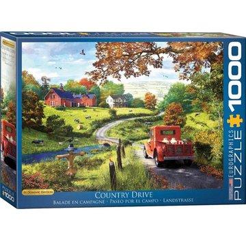 Eurographics Le Country Drive - Dominic Davison 1000 Puzzle Pieces
