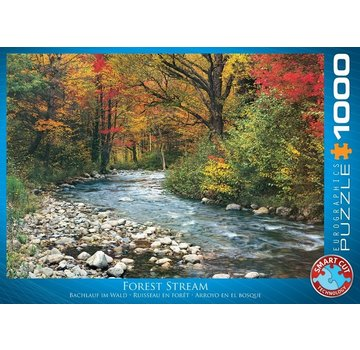 Eurographics Forest Stream 1000 Puzzle Pieces